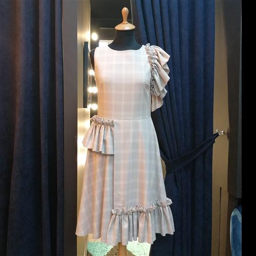 Gizia haljina EQ011 BEIGE