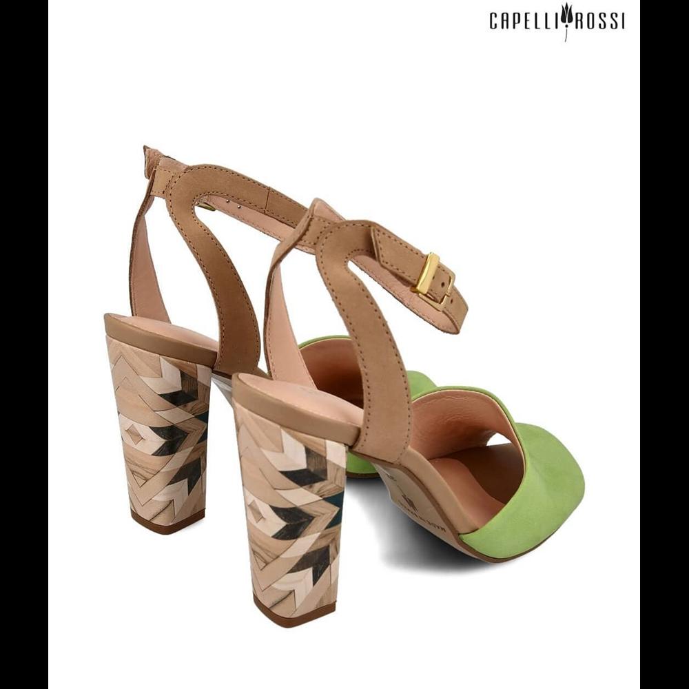 Capelli Rossi sandale 126-424 AVOCADO MA