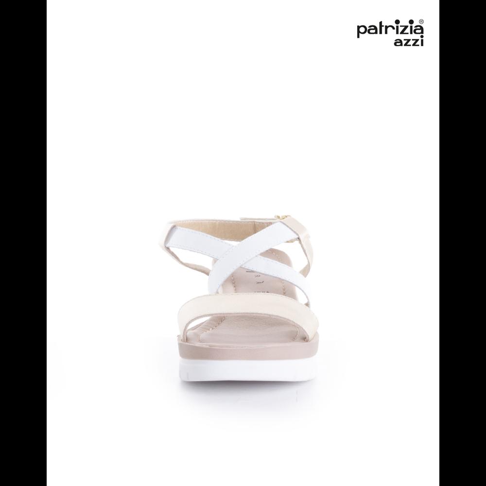 Patrizia sandale PLATINO/BIANCO