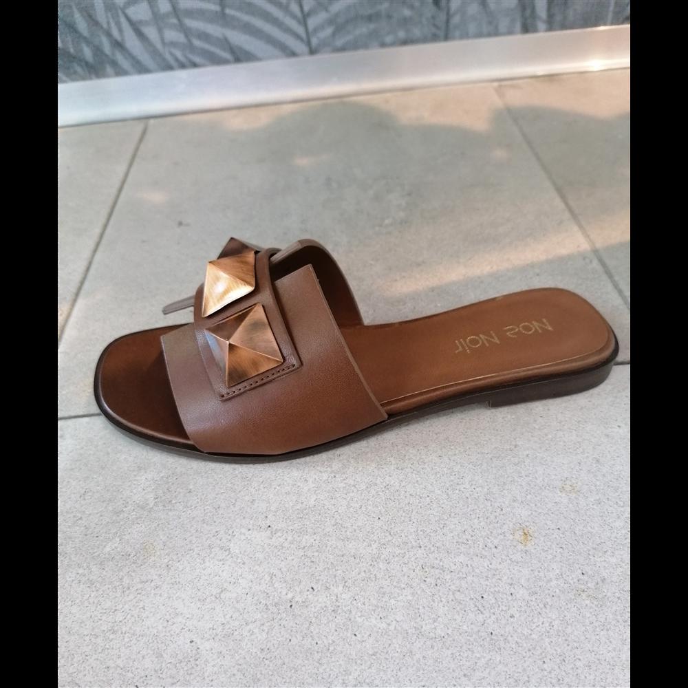 Noa Noir papuče 055 02 BROWN