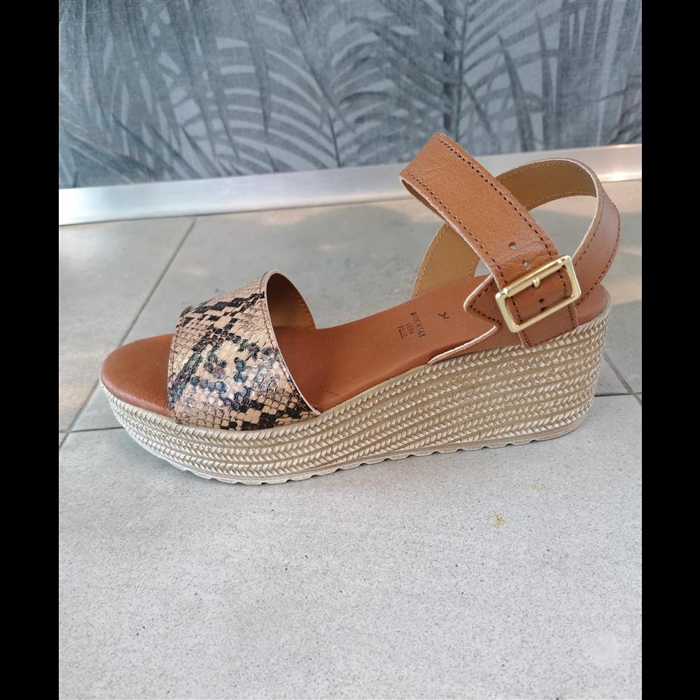 Patrizia sandale BEIGE/CUIO