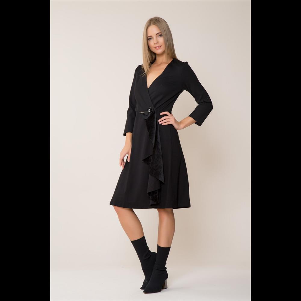 Gizia haljina 5X051 BLACK