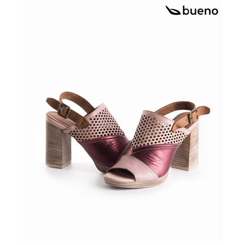 Bueno sandale 9N6405 BORDEAUX CAMEO