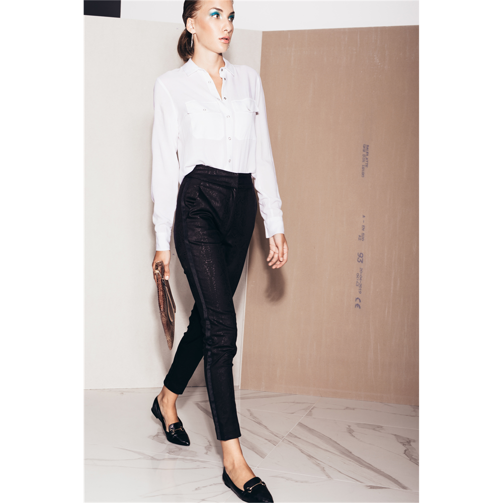 Ballary pantalone SORANA BLACK ANIMAL
