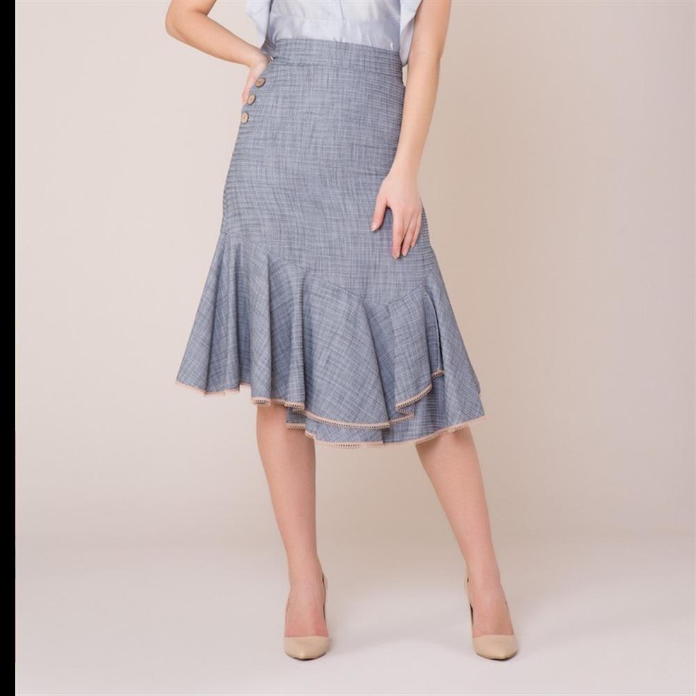 Gizia suknja CQ006 NAVY