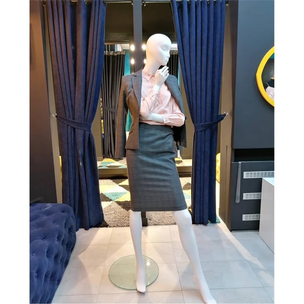 Kiwe suknja XX006 GREY