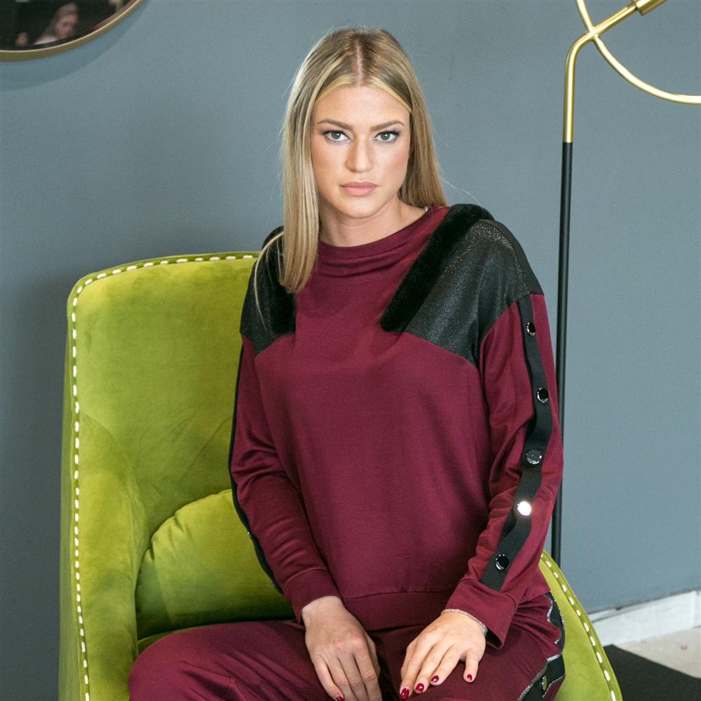Gizia bluza 2X012 BLACK
