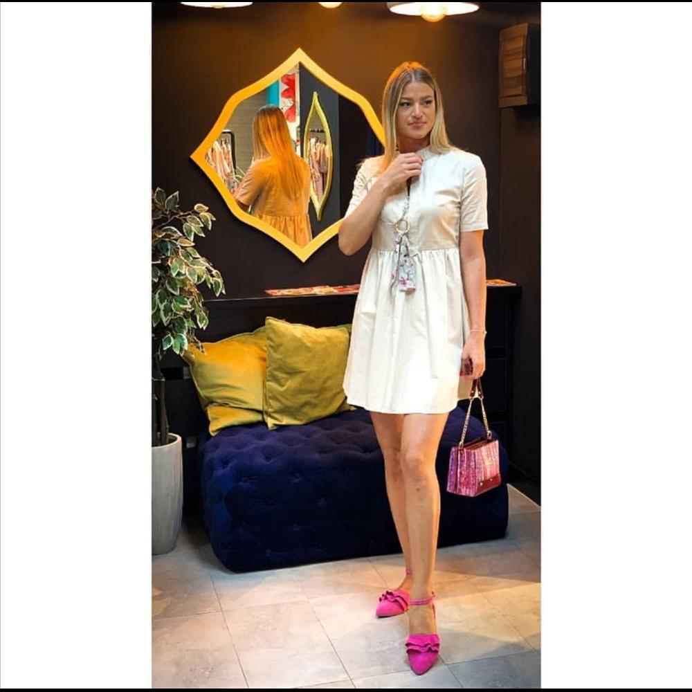 Kiwe haljina ZQ007 BEIGE