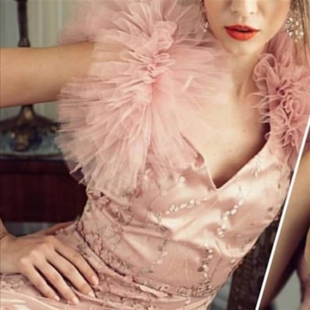 Ballary haljina BERGEN ROZA