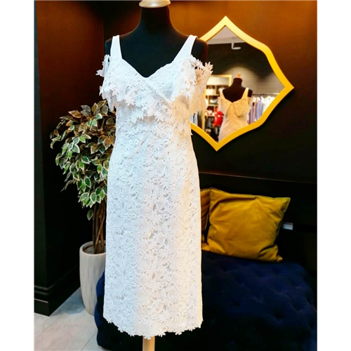 Gizia haljina 5W081 ECRU