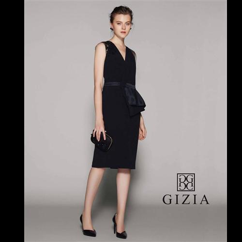 Gizia haljina 5Z037 BLACK