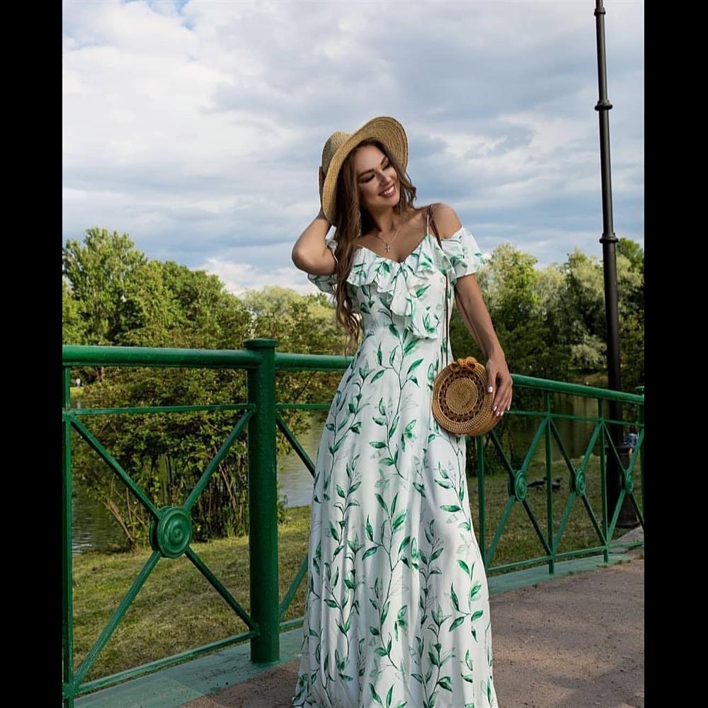 Gizia haljina EW165 GREEN