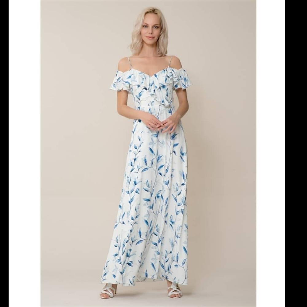 Gizia haljina EW165 BLUE