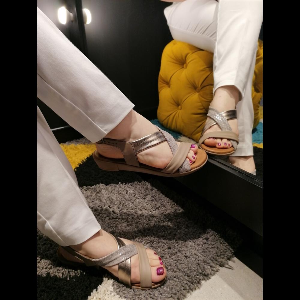 Bueno sandale 20WL1505-MULTI 3 SILVER