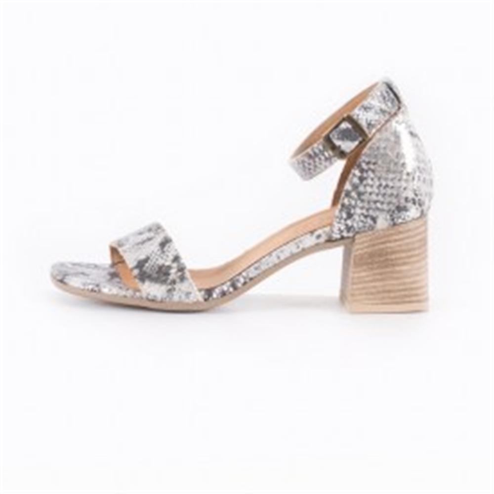 Bueno sandale 20WQ0602-DUBOIS BLACK/SILVER