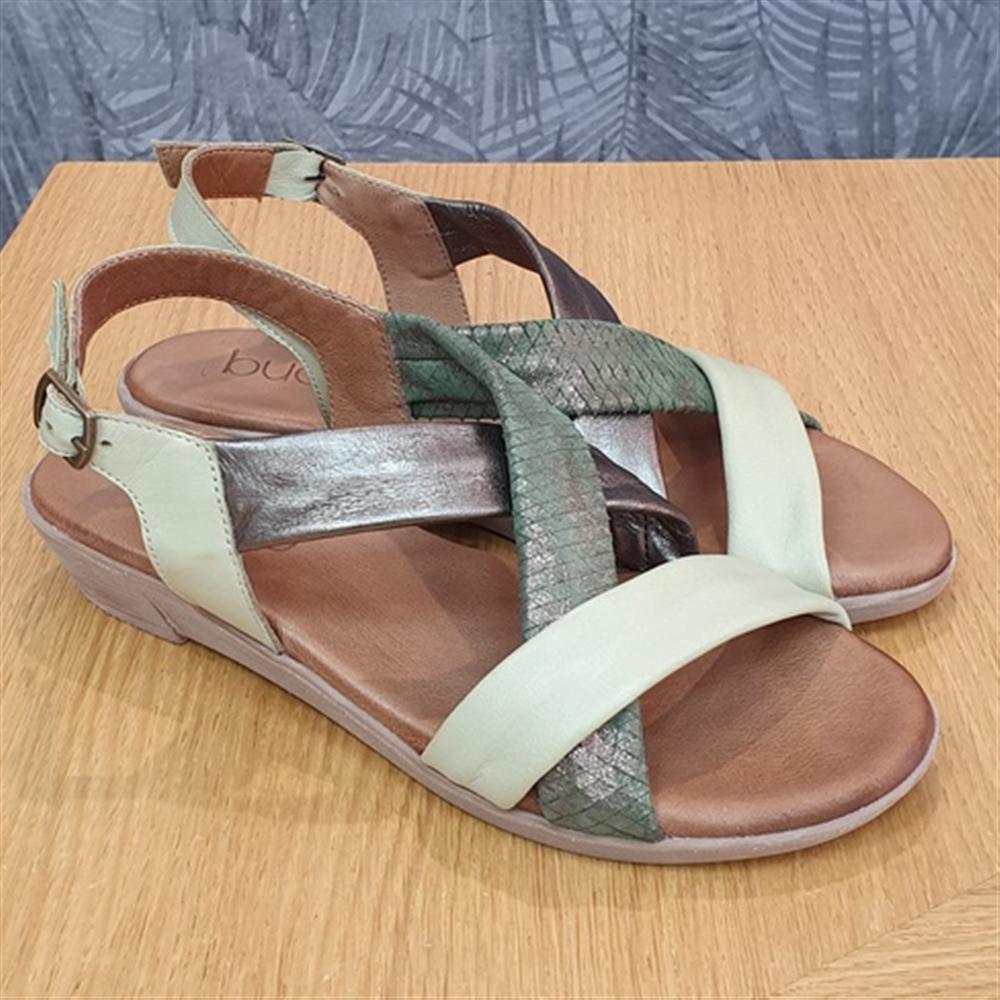 Bueno sandale 20WL1505-MULTI 4 GREEN