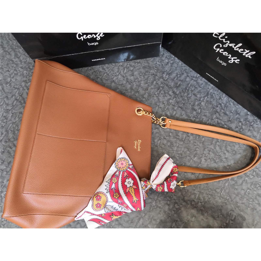 Elizabeth George torba EG849 BROWN