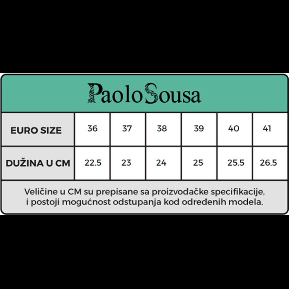 Paolo Sousa patike 198022 RED