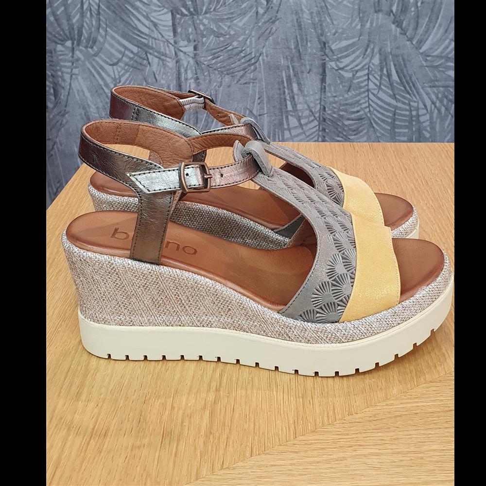 Bueno sandale 20WQ3900 SILVER