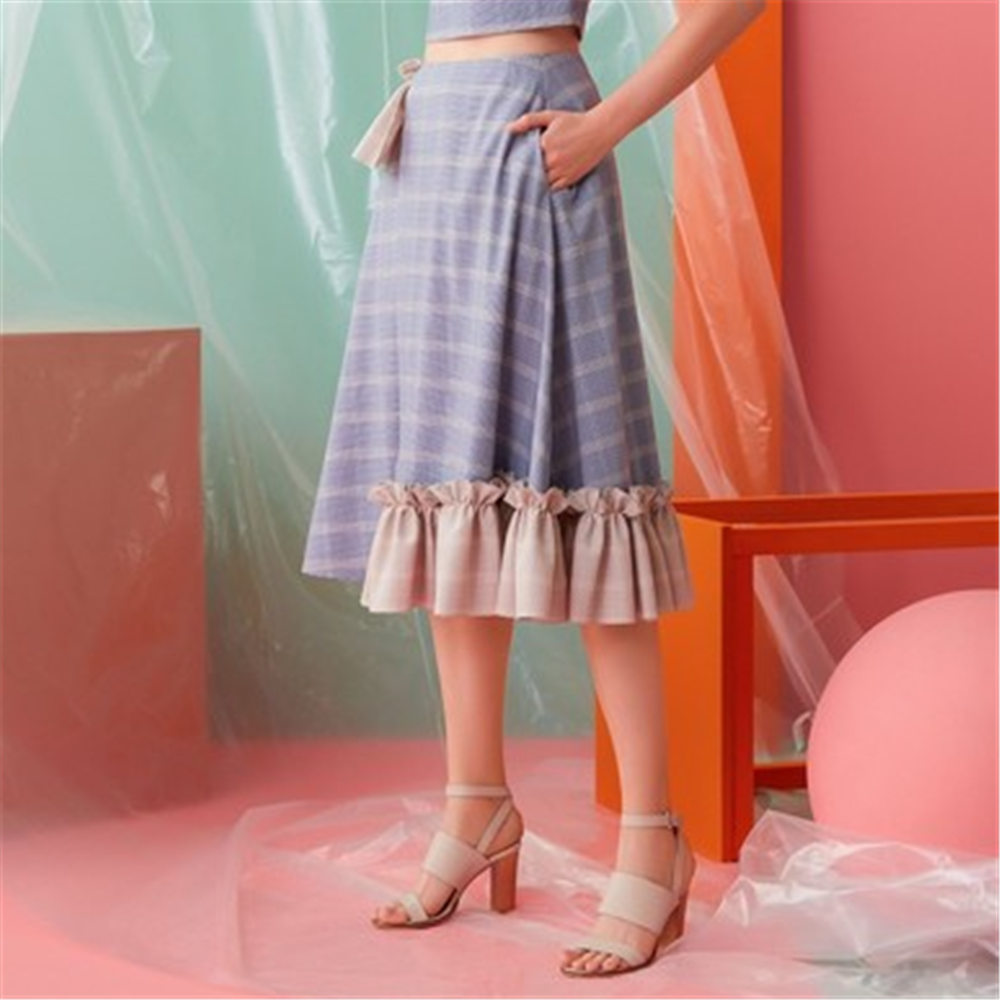 Gizia Suknja CQ025 BLUE