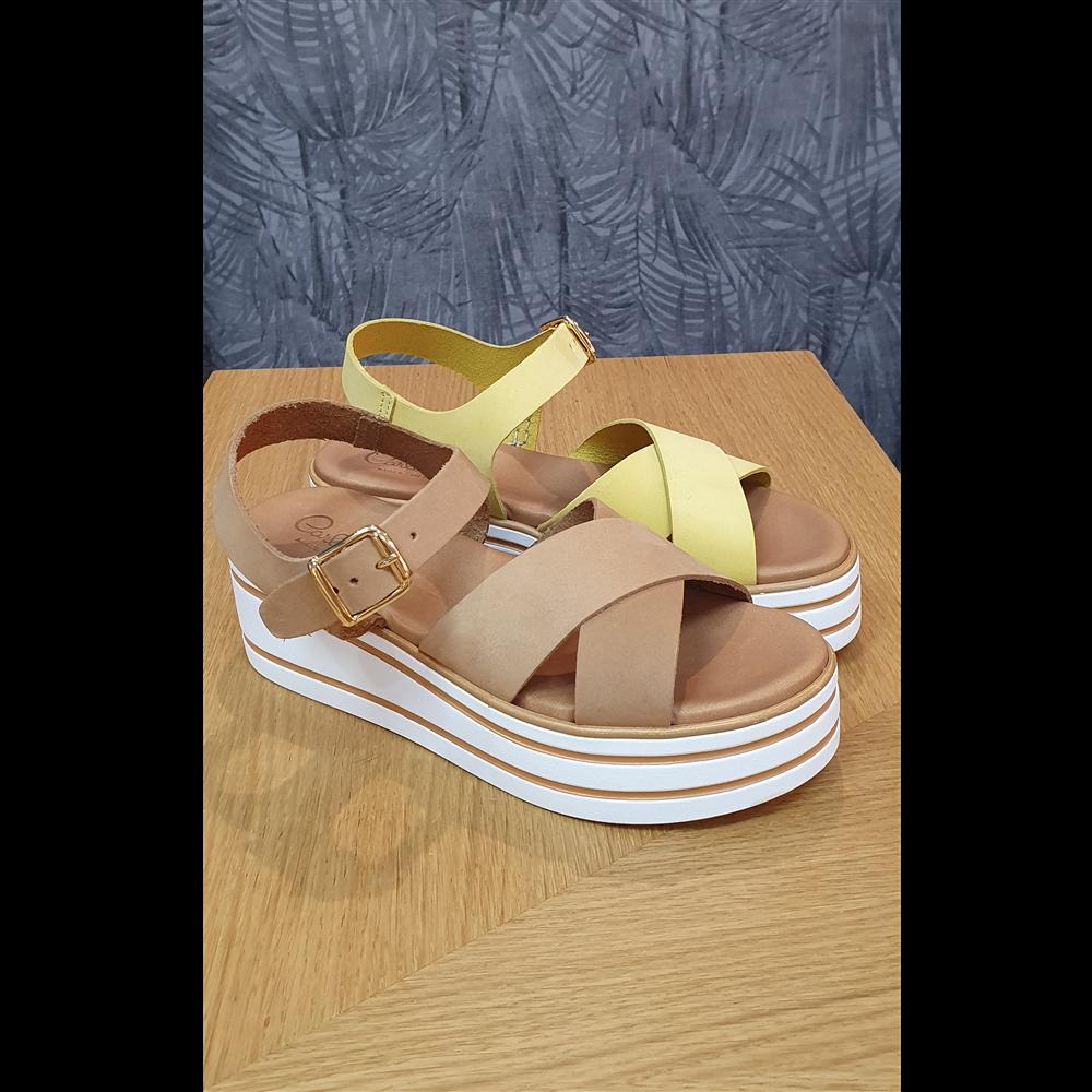 Pera Carlo sandale 4760 N.NATURALE