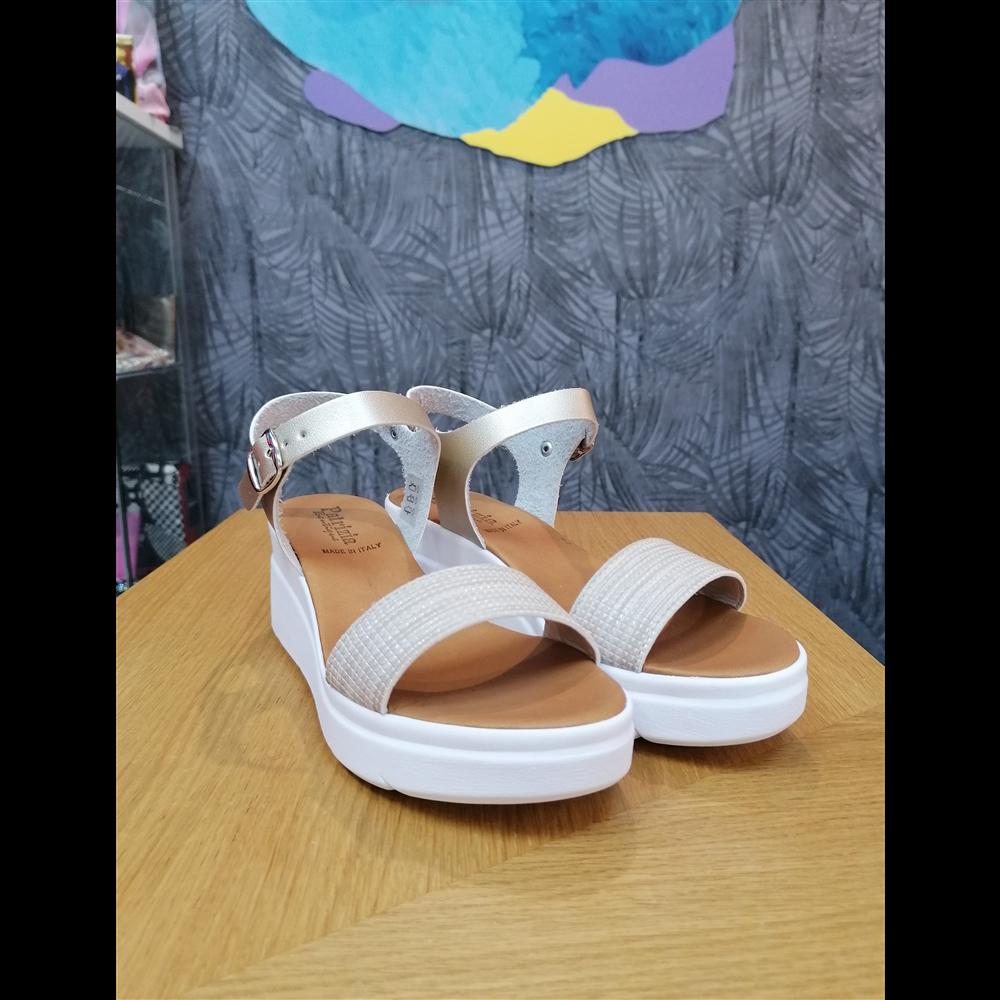 Patrizia sandale KB03P PLATINO/PLATINO