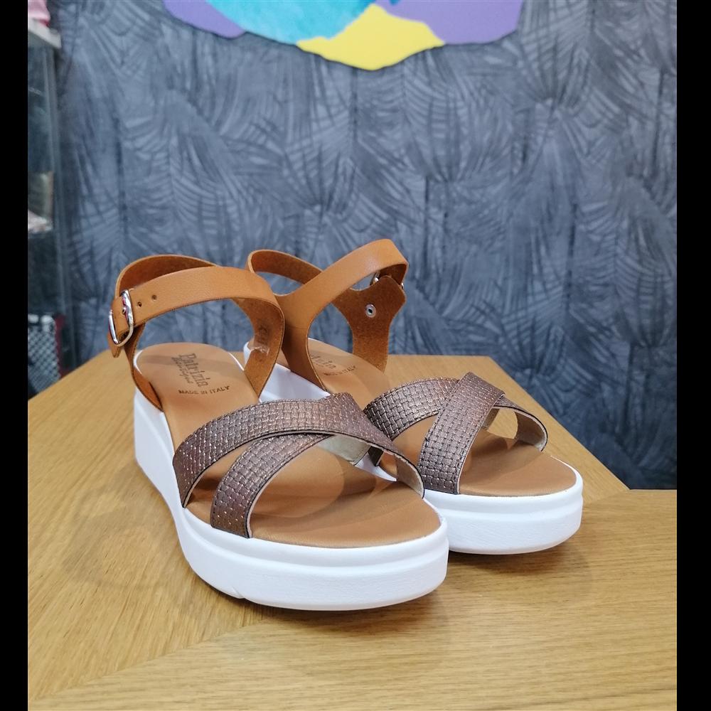 Patrizia sandale KB04B BRONZO/CUOIO