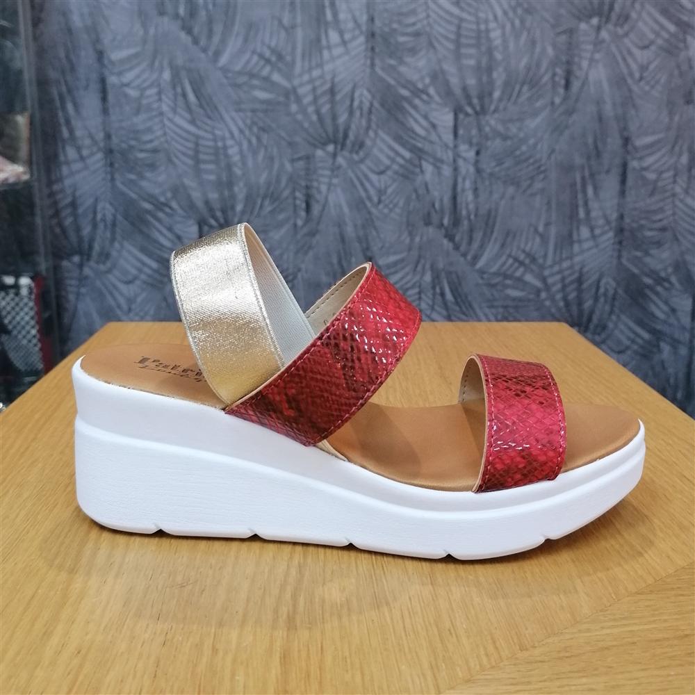 Patrizia sandale KB05R ROSSO