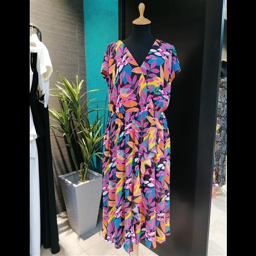 Kiwe haljina ZQ597 FUCHSIA