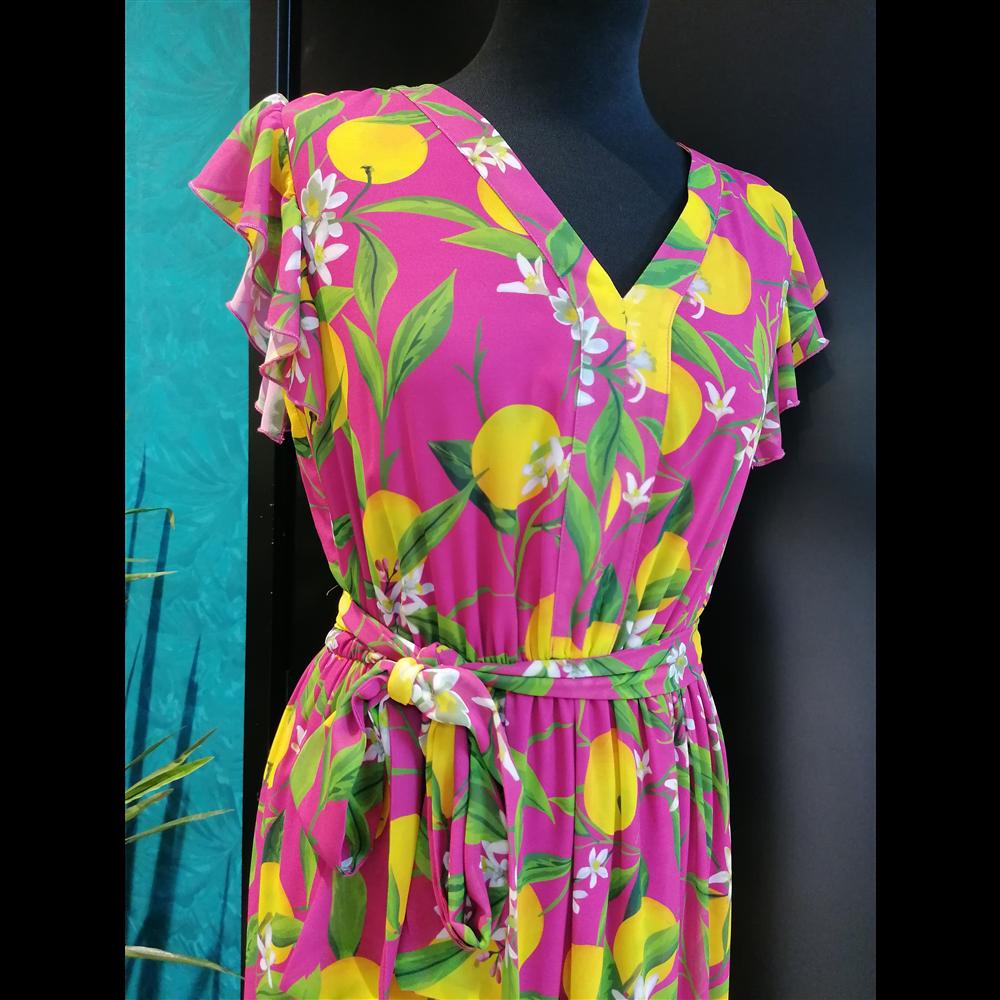 Kiwe haljina ZQ093 YELLOW