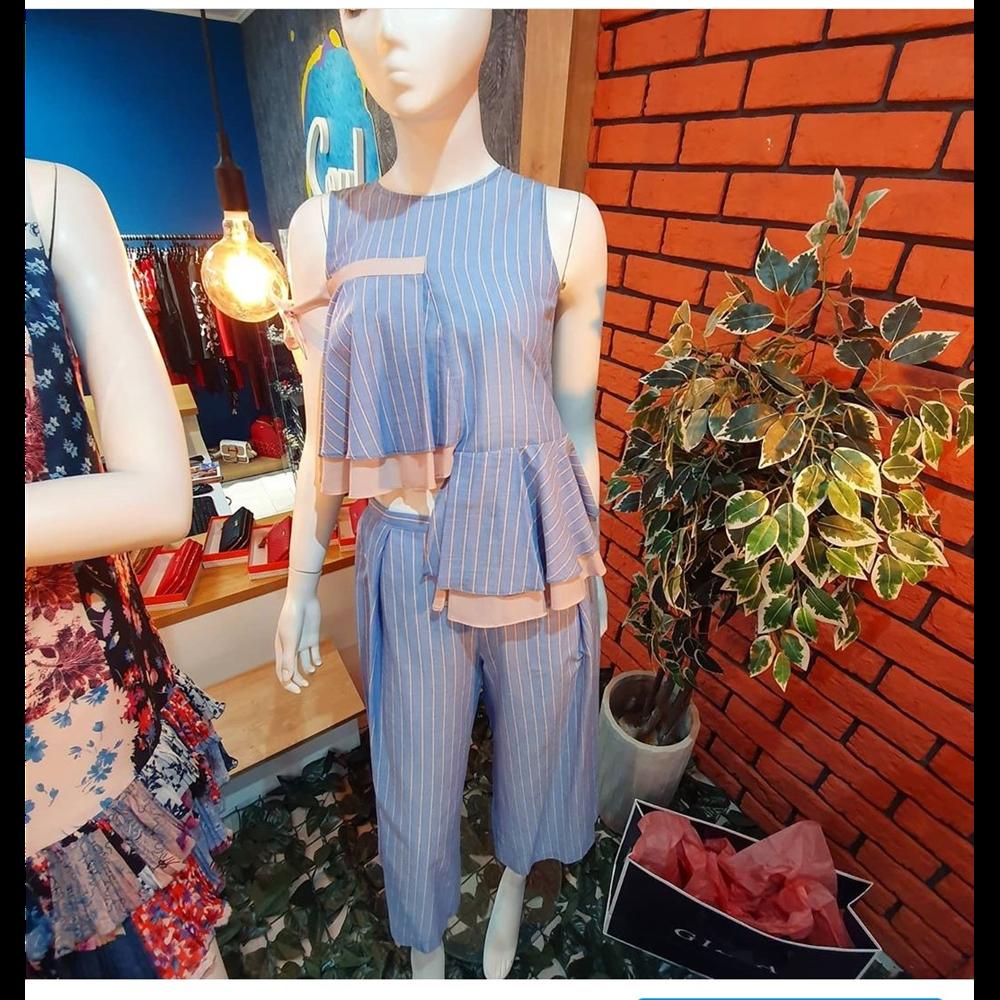 Gizia bluza BQ065 BLUE