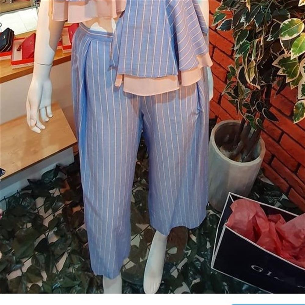 Gizia pantalone AQ041 BLUE