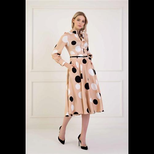 Kiwe haljina MZB016 BEIGE