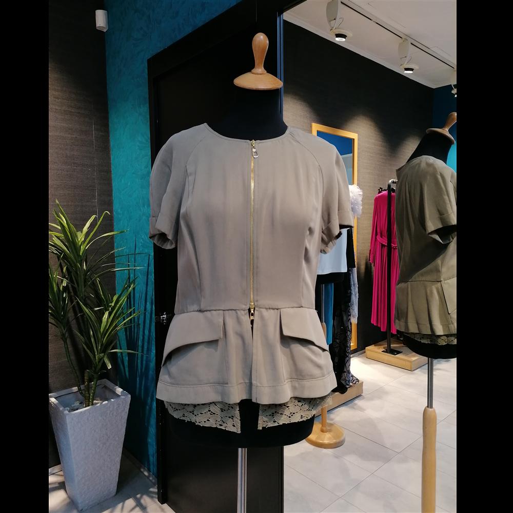 Gizia bluza DW007 KHAKI