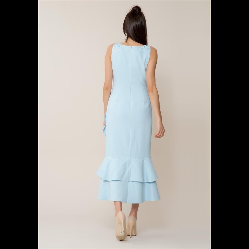 Gizia haljina 5W169 L.BLUE