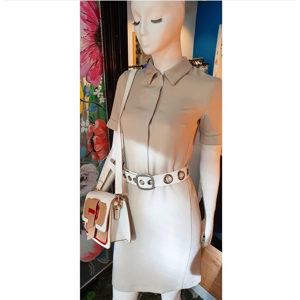 Gizia haljina EW058 STONE