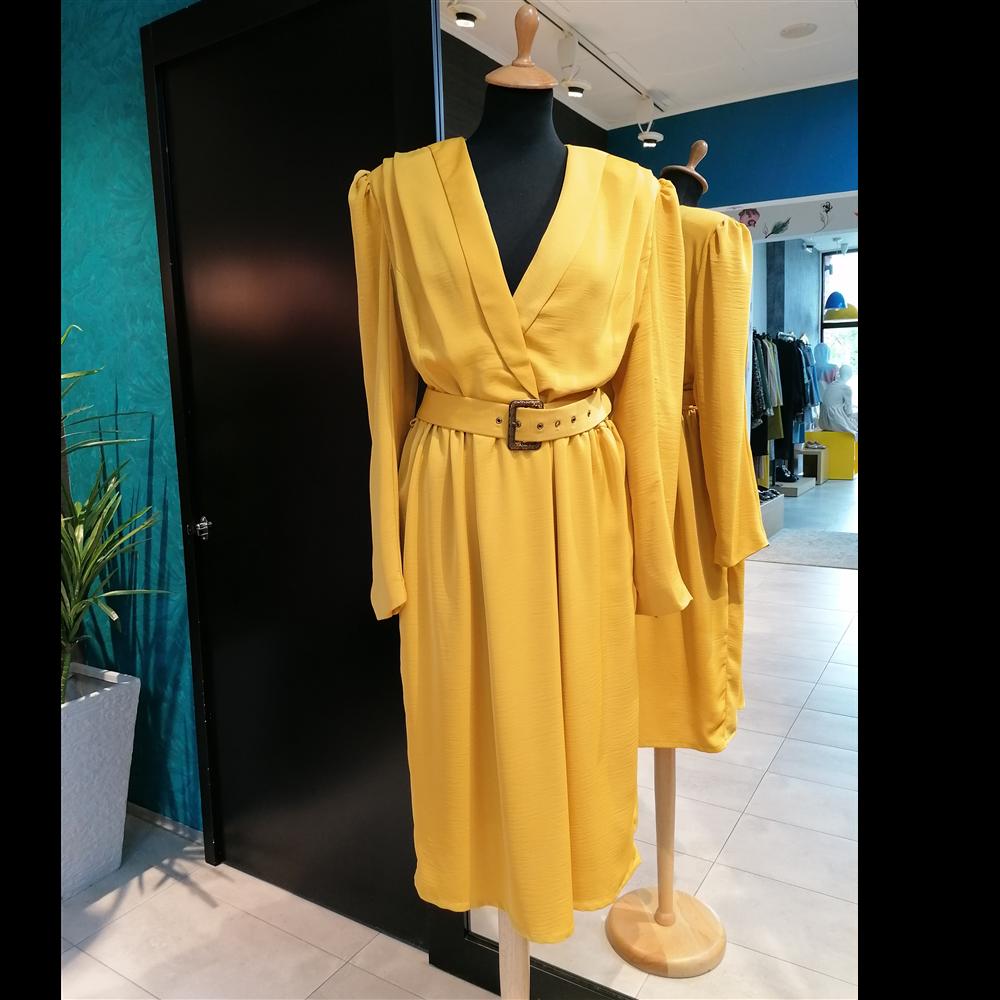 Ballary haljina JULIET NUGAT GOLD