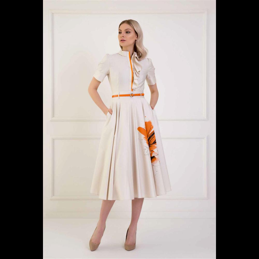 Kiwe haljina MZB023 BEIGE