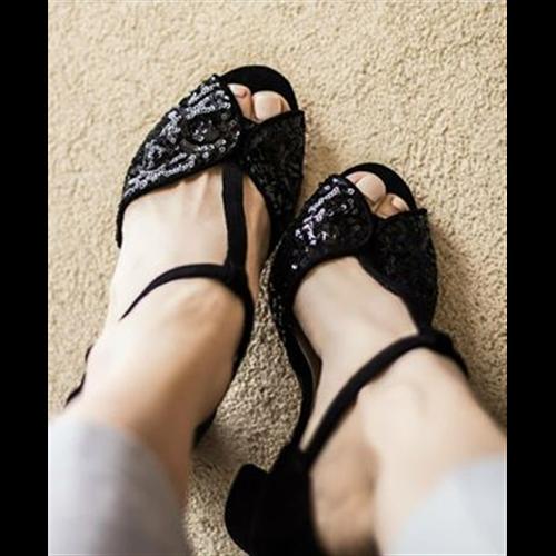 Solo sandale 2938 BLACK