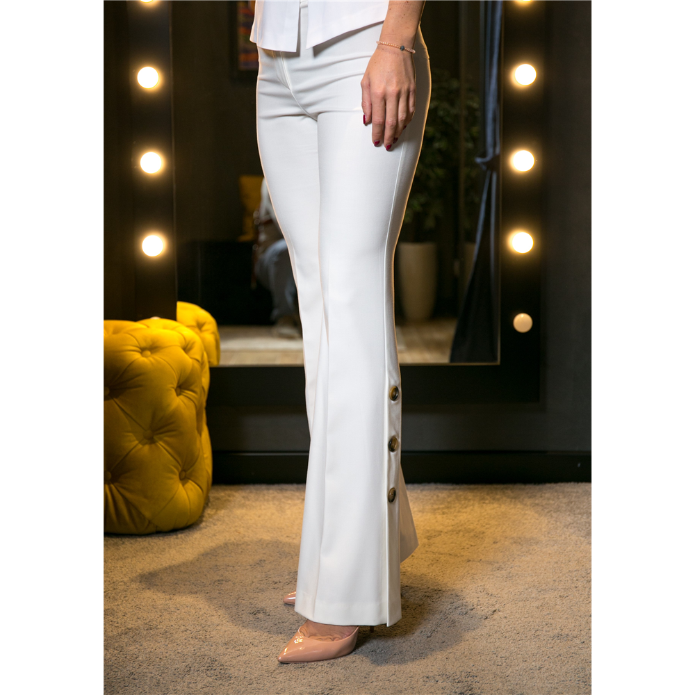 Gizia pantalone AX031 ECRU