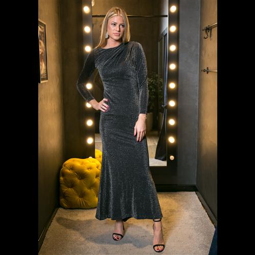 Gizia haljina 5X096 BLACK