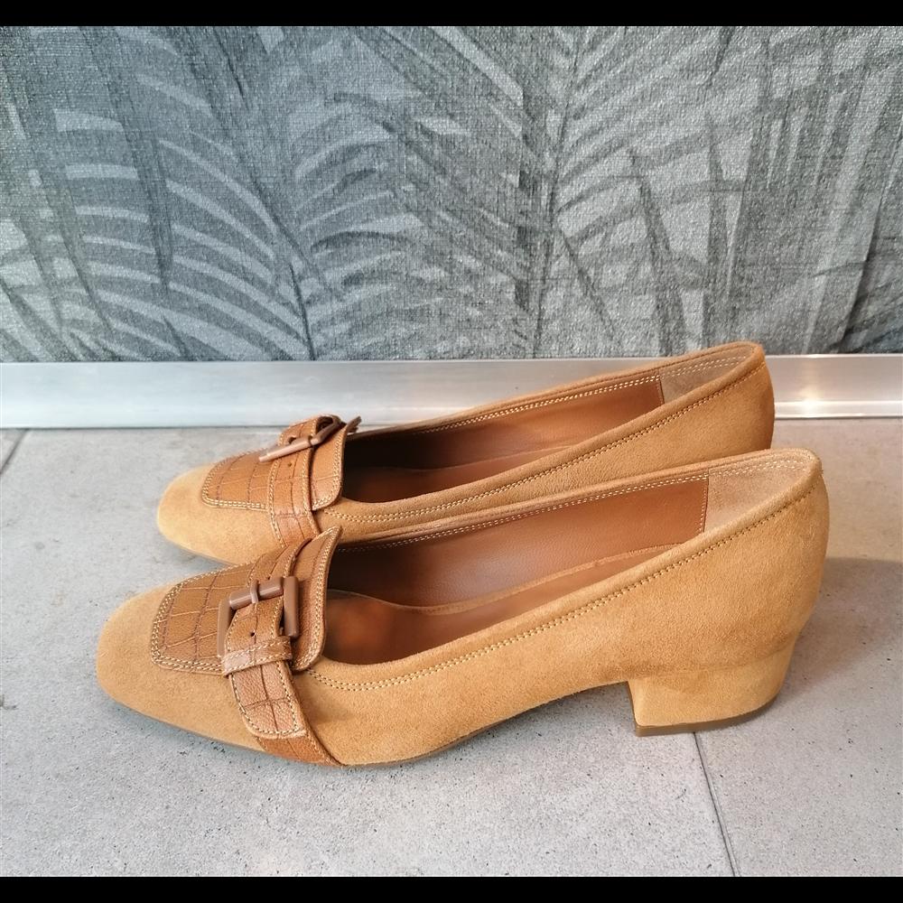 Noa Noir cipele 2031 TABACCO SUEDE/CROCO