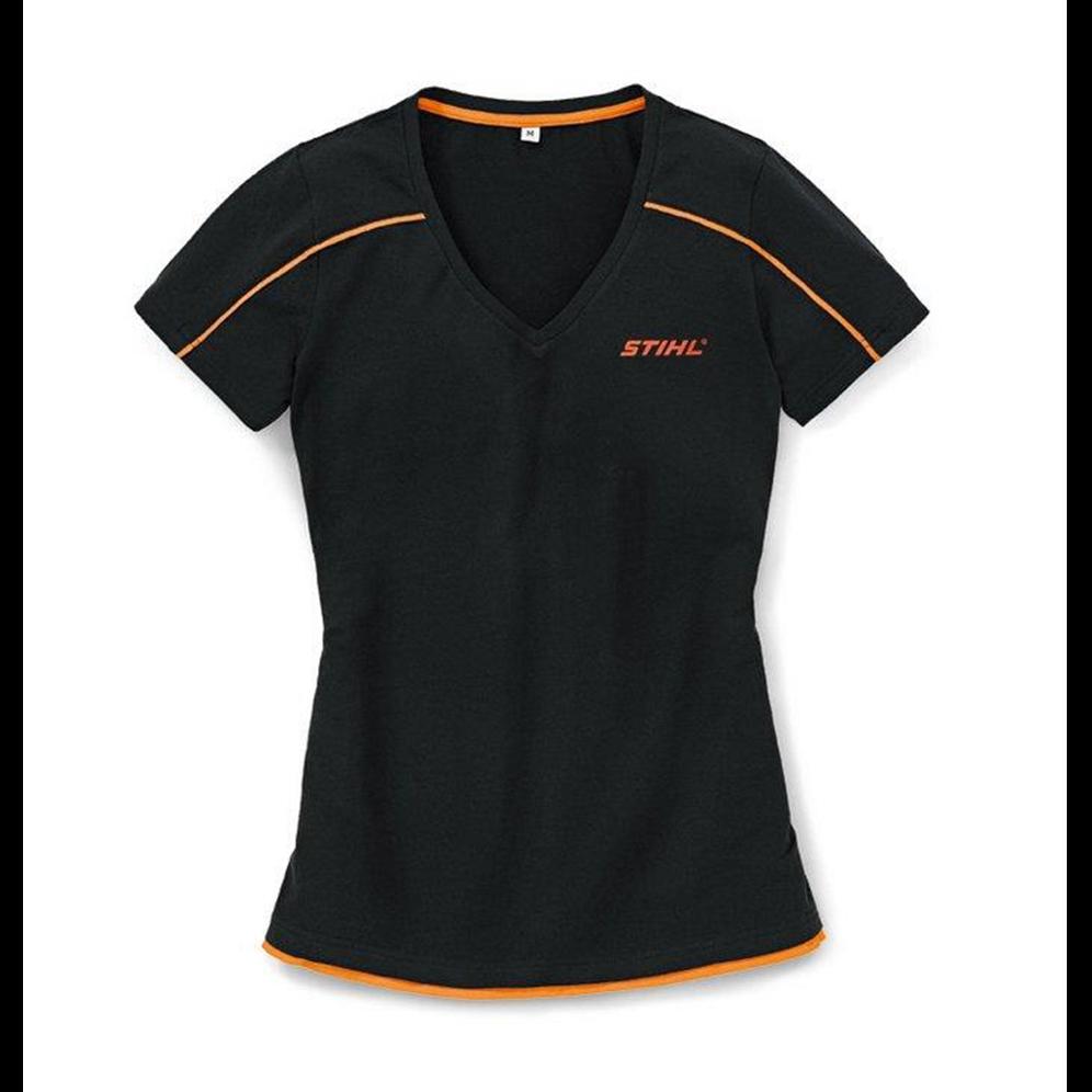 Majica crna V izraz za dame