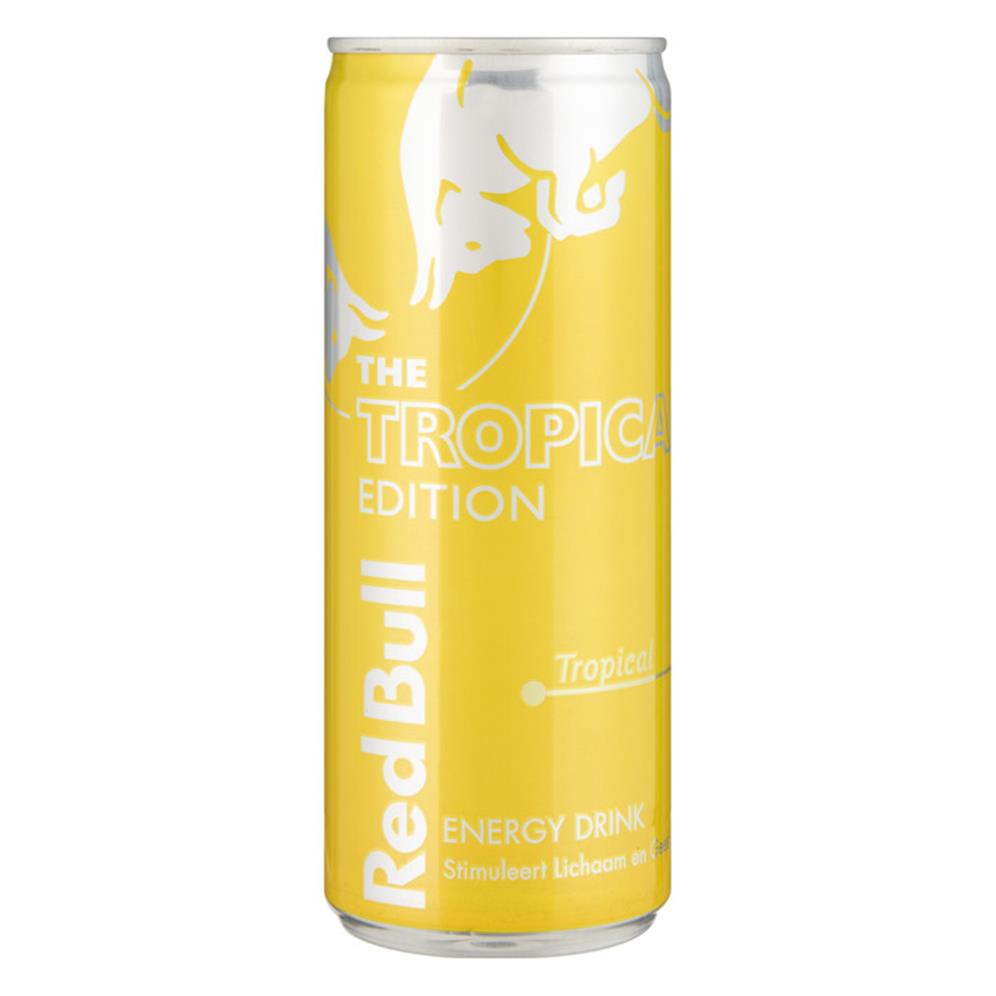Red bull yellow edition 0.25