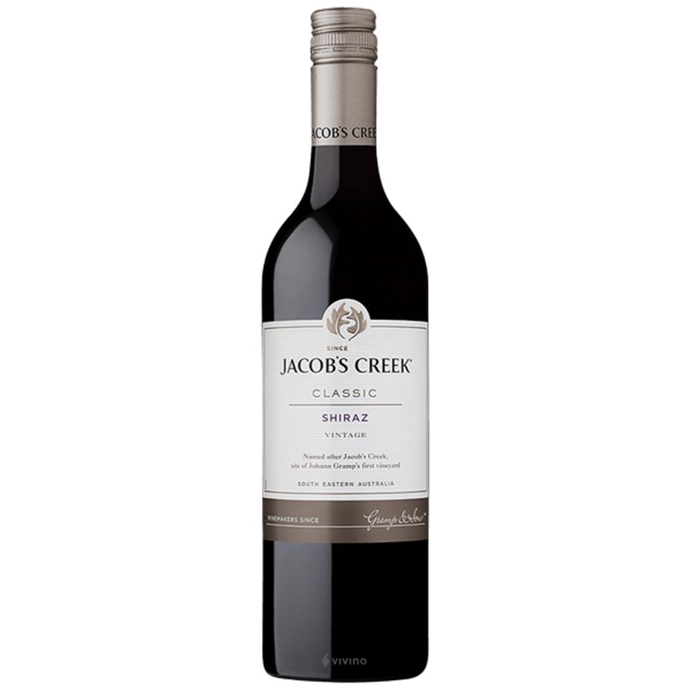 Jacob's Creek- shiraz 0.75