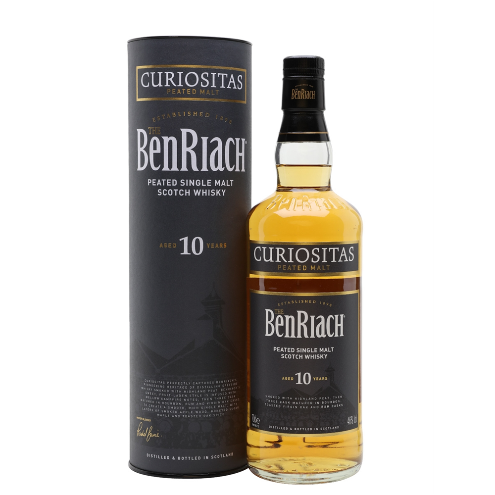BenRiach  Curiositas 10yo Single Malt 46% 0.70