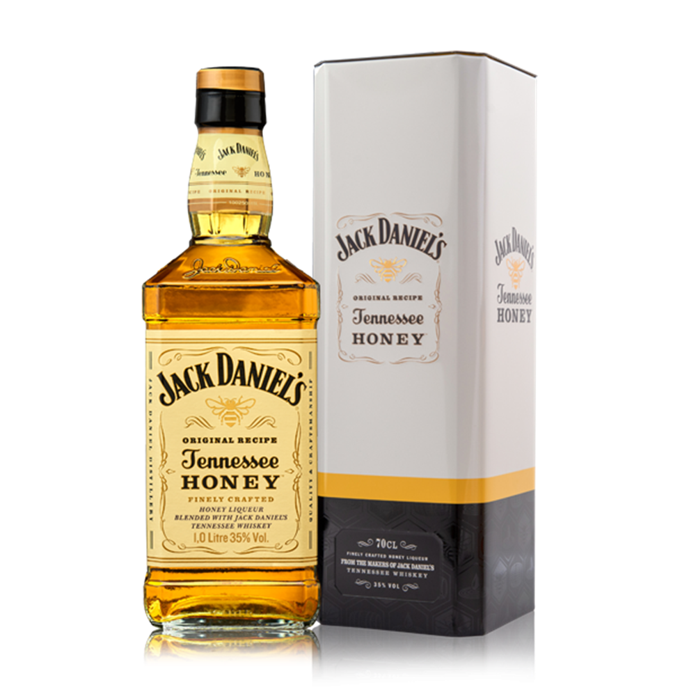 Jack Daniels Honey Gift  metalno pakovanje 0,70