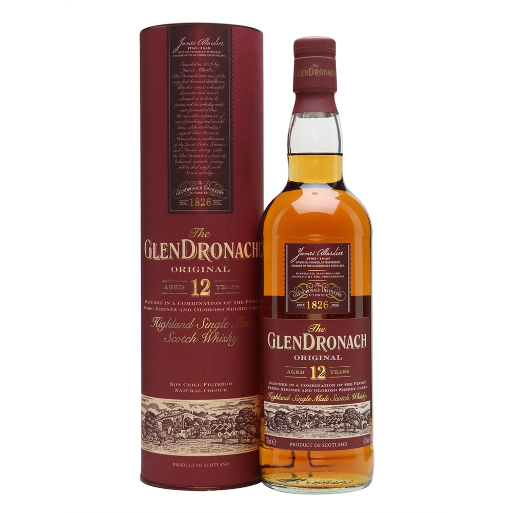Glendronach 12 YO Single Malt 43% 0.70