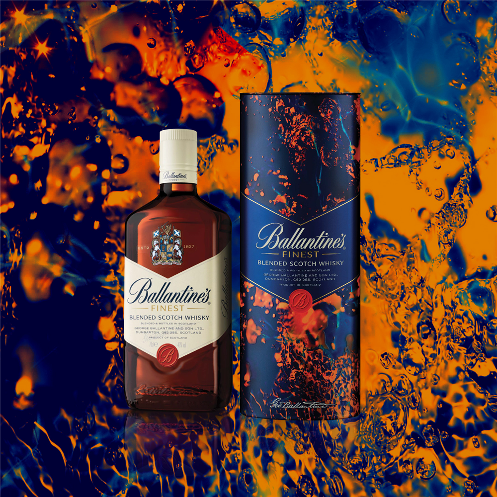 BALLANTINES FINEST 0.70 gift box