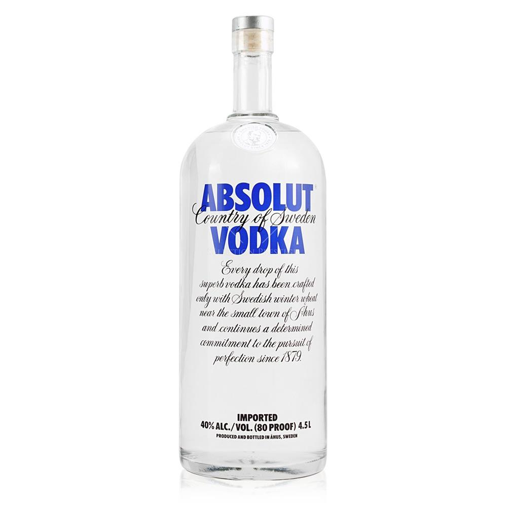 Absolut Blue 4.5 lit.